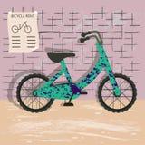 Απεικόνιση μισθώματος ποδηλάτων διανυσματική απεικόνιση