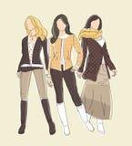Απεικόνιση μόδας Στοκ φωτογραφία με δικαίωμα ελεύθερης χρήσης