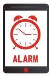 Απεικόνιση ξυπνητηριών Στοκ Εικόνα