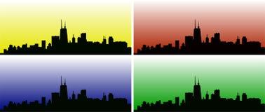 Απεικόνιση οριζόντων πόλεων Στοκ εικόνα με δικαίωμα ελεύθερης χρήσης
