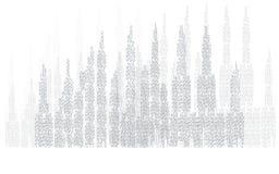 Απεικόνιση οριζόντων πόλεων landscape urban Σκιαγραφία πόλεων Εικονική παράσταση πόλης στο επίπεδο ύφος τοπίο πόλεων σύγχρονο Πλά Στοκ εικόνα με δικαίωμα ελεύθερης χρήσης