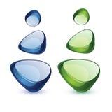 Απεικόνιση πετρών γυαλιού Ελεύθερη απεικόνιση δικαιώματος