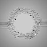 Απεικόνιση πινάκων κυκλωμάτων τεχνολογίας για το σας διανυσματική απεικόνιση
