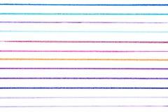 Απεικόνιση πολλών μικρή συρμένη χέρι πολύχρωμη γραμμών με το stai στοκ φωτογραφίες με δικαίωμα ελεύθερης χρήσης