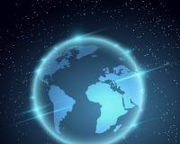 Απεικόνιση πλανήτη Γη Στοκ Εικόνες