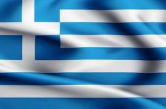 Απεικόνιση σημαιών της Ελλάδας απεικόνιση αποθεμάτων