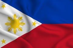 Απεικόνιση σημαιών των Φιλιππινών ελεύθερη απεικόνιση δικαιώματος