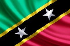 Απεικόνιση σημαιών St. Kitts and Nevis ελεύθερη απεικόνιση δικαιώματος