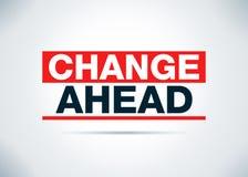 Απεικόνιση σχεδίου υποβάθρου αλλαγής μπροστά αφηρημένη επίπεδη ελεύθερη απεικόνιση δικαιώματος