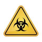 Απεικόνιση σχετική με το βιολογικό κίνδυνο Στοκ φωτογραφία με δικαίωμα ελεύθερης χρήσης