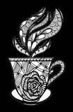 Απεικόνιση σχεδίων φλυτζανιών καφέ Στοκ Φωτογραφία