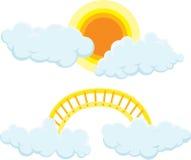 απεικόνιση σύννεφων Στοκ φωτογραφία με δικαίωμα ελεύθερης χρήσης