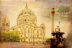 Απεικόνιση σύστασης τέχνης του Βερολίνου Στοκ Εικόνες