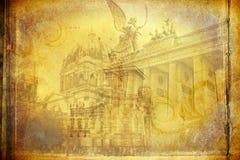 Απεικόνιση σύστασης τέχνης του Βερολίνου Στοκ Φωτογραφίες