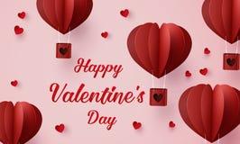 Απεικόνιση της αγάπης και της ημέρας βαλεντίνων διανυσματική απεικόνιση