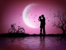 Απεικόνιση της αγάπης και της ημέρας βαλεντίνων ` s ελεύθερη απεικόνιση δικαιώματος