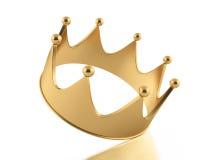 Απεικόνιση της κορώνας από το χρυσό Στοκ φωτογραφίες με δικαίωμα ελεύθερης χρήσης