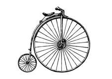 Απεικόνιση του αναδρομικού ποδηλάτου απεικόνιση αποθεμάτων