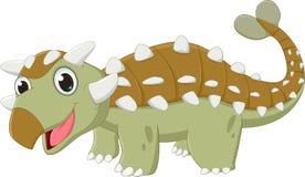 Απεικόνιση του δεινοσαύρου Ankylosaurus Στοκ Εικόνες