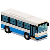 Απεικόνιση του λεωφορείου που απομονώνεται στο άσπρο υπόβαθρο Στοκ φωτογραφία με δικαίωμα ελεύθερης χρήσης