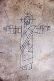 Απεικόνιση του Ιησούς Χριστού Στοκ φωτογραφία με δικαίωμα ελεύθερης χρήσης