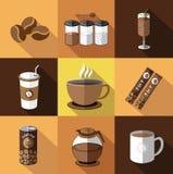 Απεικόνιση του καφέ Στοκ Εικόνα