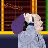 Απεικόνιση του κινεζικού χρηματιστηρίου Στοκ Εικόνες