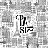 Απεικόνιση του Παρισιού Στοκ Εικόνα