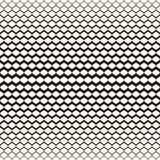 Απεικόνιση του πλέγματος με βαθμιαία το πάχος Ημίτονο σχέδιο διανυσματική απεικόνιση