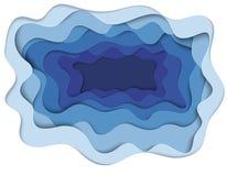 Απεικόνιση του πυθμένα της θάλασσας Στοκ εικόνα με δικαίωμα ελεύθερης χρήσης