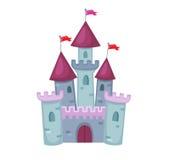 Απεικόνιση του χαριτωμένου Castle επίσης corel σύρετε το διάνυσμα απεικόνισης Στοκ Φωτογραφία