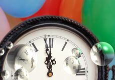 απεικόνιση του χρόνου Στοκ Εικόνες