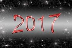 απεικόνιση του 2017 στοκ φωτογραφία με δικαίωμα ελεύθερης χρήσης