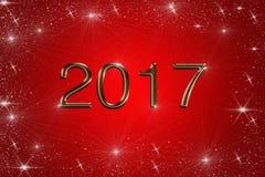 απεικόνιση του 2017 στοκ εικόνα με δικαίωμα ελεύθερης χρήσης