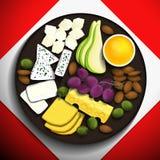Απεικόνιση τροφίμων Στοκ φωτογραφία με δικαίωμα ελεύθερης χρήσης