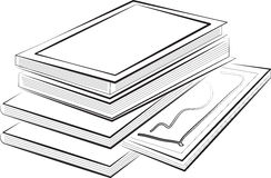 Απεικόνιση των βιβλίων Στοκ Εικόνες