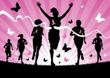 Τρέξιμο γυναικών απεικόνιση αποθεμάτων