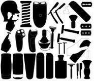 Ξυρίζοντας εργαλεία Στοκ Φωτογραφία