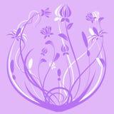 Απεικόνιση των λουλουδιών Στοκ Εικόνα
