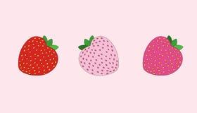 Απεικόνιση φραουλών στοκ φωτογραφία