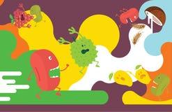 Απεικόνιση φρούτων Στοκ Εικόνα