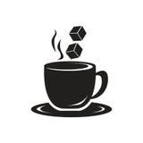 Απεικόνιση φλυτζανιών καφέ Στοκ εικόνες με δικαίωμα ελεύθερης χρήσης