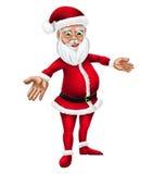 Απεικόνιση χαρακτήρα Χριστουγέννων Άγιου Βασίλη κινούμενων σχεδίων Στοκ φωτογραφία με δικαίωμα ελεύθερης χρήσης