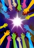 απεικόνιση χεριών Στοκ εικόνες με δικαίωμα ελεύθερης χρήσης