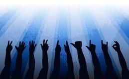 Απεικόνιση χεριών Στοκ Εικόνες