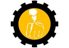 απεικόνιση χούλιγκαν πυ&gamm Στοκ Εικόνες