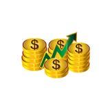 Απεικόνιση χρημάτων Στοκ φωτογραφίες με δικαίωμα ελεύθερης χρήσης