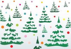 Απεικόνιση Χριστουγέννων. Διάνυσμα στοκ εικόνες