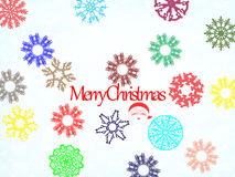 απεικόνιση Χριστουγέννων εύθυμη Στοκ Εικόνα