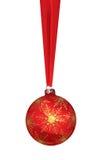 απεικόνιση Χριστουγέννων σφαιρών Στοκ εικόνες με δικαίωμα ελεύθερης χρήσης